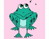 Coloring page Frog painted byfawnamama1