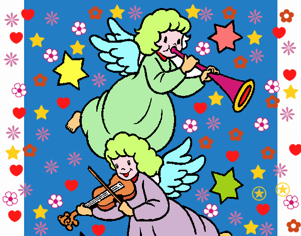 Musical angels