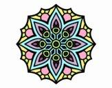 Mandala simple symmetry