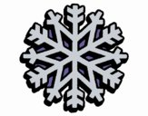 Coloring page Snowflake painted byKhaos006