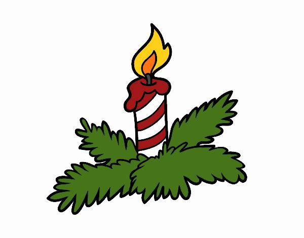 Xmas candle