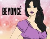 Coloring page Beyoncé B-Day painted byAnia