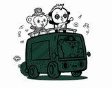 Musical van