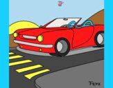 Coloring page Car painted byAnia