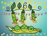 Some peas