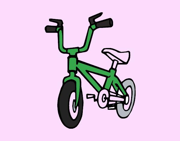 Childish bike