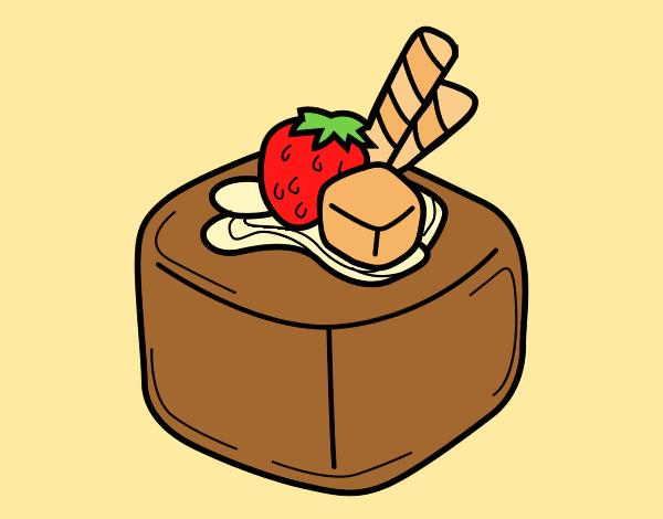 Fruit chocolate