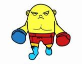 Bald boxer