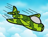 Camouflage Airplane