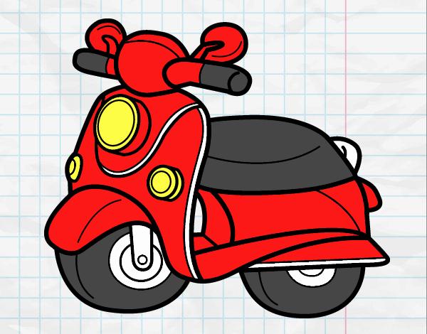 Motorcycle Vespa