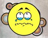 Tearful Smiley