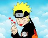 Naruto pulling out tongue