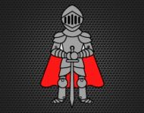 Knight with cape