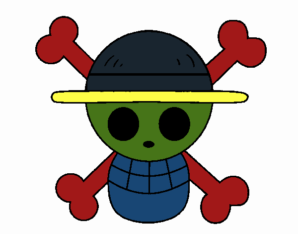 Straw hat flag