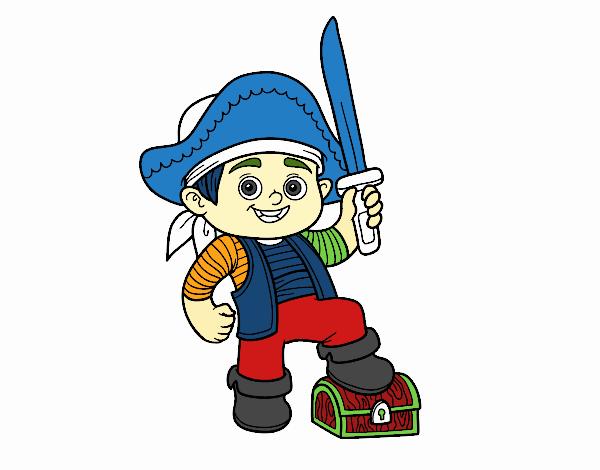 A pirate boy
