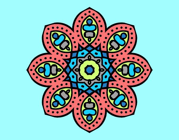 Arabian mandala