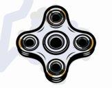 Four-point spinner