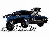 Sport muscle car