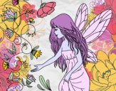 Coloring page Sylph painted bybbbb
