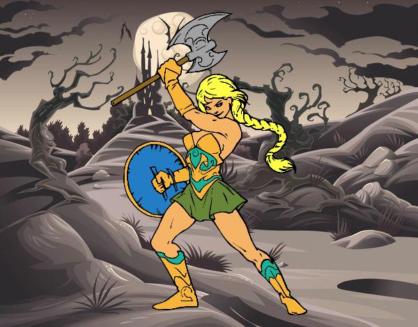 Viking heroine
