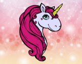 Coloring page A unicorn painted bybbbb