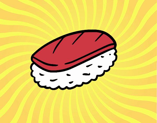 Fish nigiri