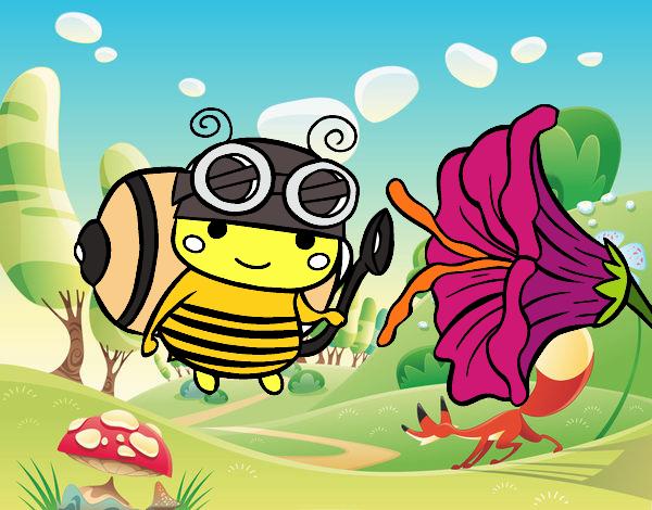 Harvest bee