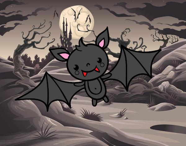 A Halloween bat