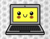 A laptop