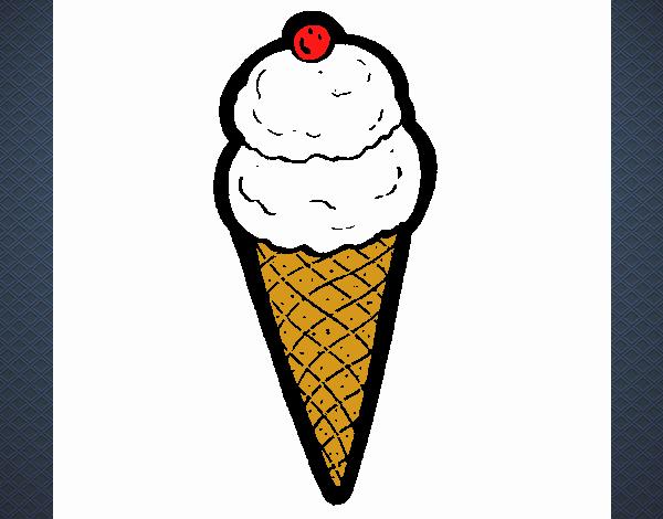 Ice-cream cornet