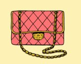Coloring page Clutch Chanel painted bylorna