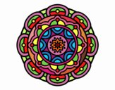 Mandala for mental relaxation