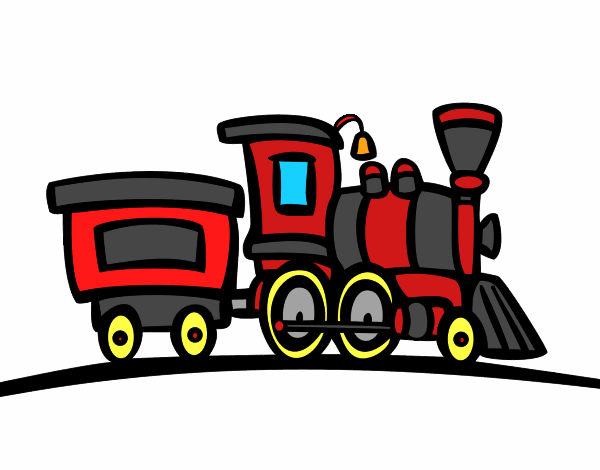 Train with wagon