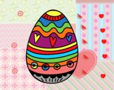 Easter egg to decorate