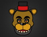 Freddy's Face from Five Nights at Freddy's