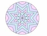 Mandala star mosaic