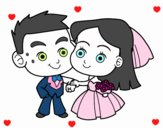Coloring page Boyfriends painted byDaisy66