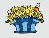 Basket of flowers 7