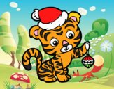 Christmas tiger
