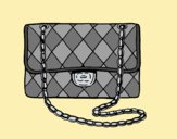 Coloring page Clutch Chanel painted byLornaAnia