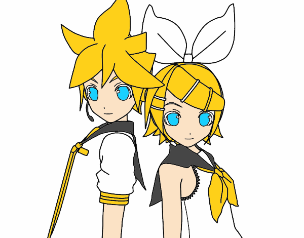 Len and Rin Kagamine Vocaloid