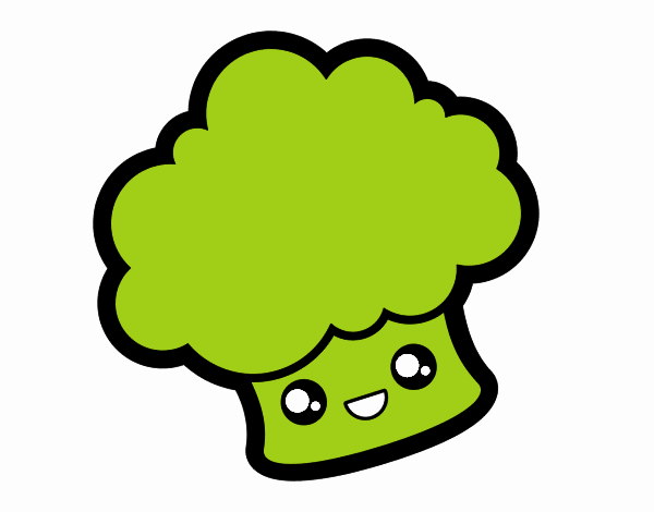 Smiling broccoli
