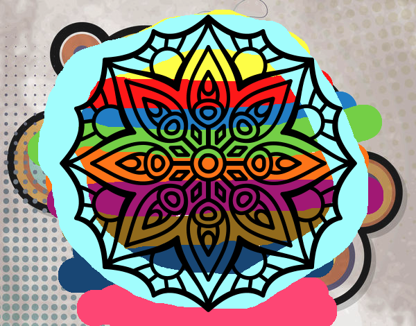 Mandala simple symmetry