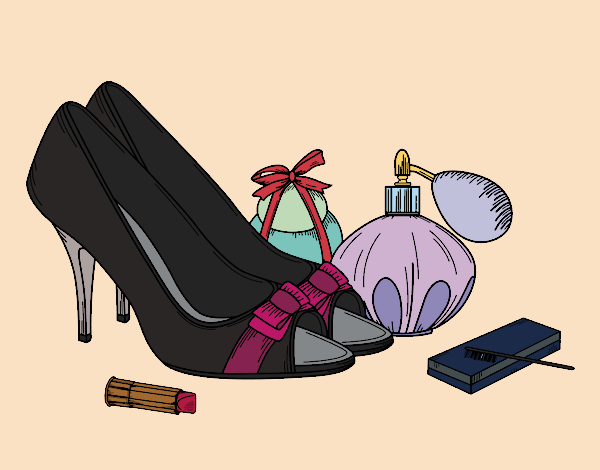 Shoes and makeup