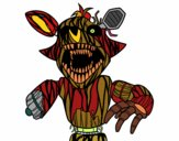 Terrifying Foxy from Five Nights at Freddy's