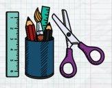 The School equipment