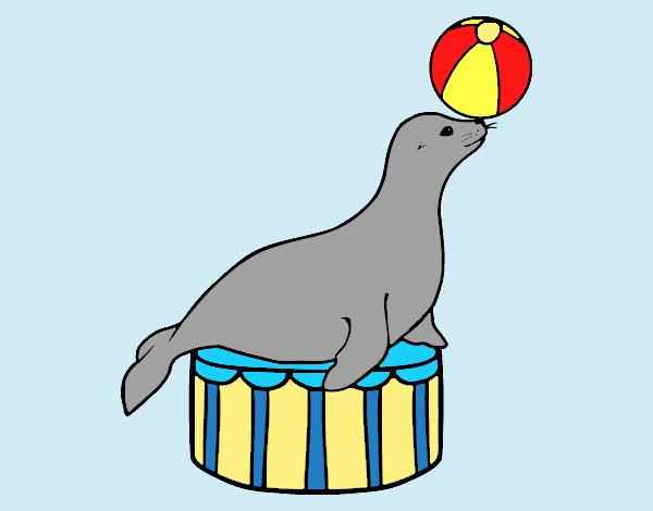 Equilibrist seal