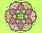 Coloring page Mandala 11 painted byANIA2