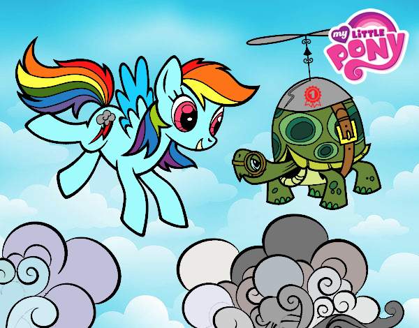 RAINBOW DASH AND TAINK