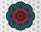 modernist mosaic mandala